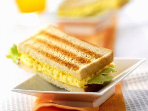 Eiersalat Sandwich Rezept