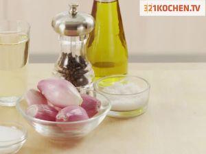 Einfache Salat Vinaigrette