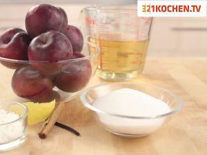 Einfaches Fruchtkompott