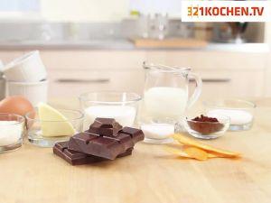 Einfaches Schokoladensouffle