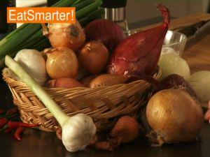 Der richtige Einkauf von Zwiebeln und Knoblauch