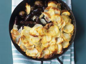 Englische Kartoffel-Wurst-Pfanne (Sausage Hotpot) Rezept