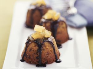 Englischer Ingwer-Schokoladen-Pudding Rezept