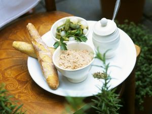 Enten-Rillettes Rezept