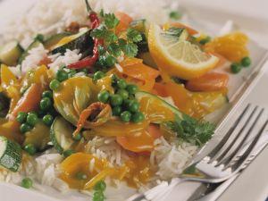 Erbsen-Curry mit Koriander Rezept
