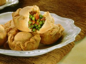 Erbsen-Empanadas Rezept