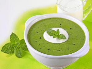 Erbsen-Minz-Suppe Rezept