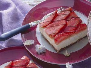 Erdbeer-Käse-Schnitte Rezept