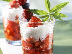 Erdbeer-Kokos-Suppe Rezept
