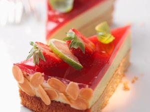 Erdbeer-Limetten-Torte Rezept