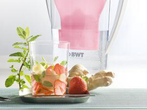 Erdbeer-Minze-Wasser Rezept