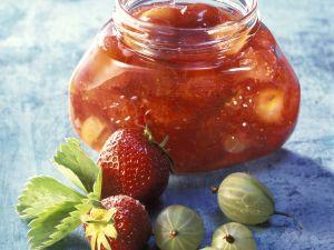 Erdbeer-Stachelbeer-Marmelade Rezept