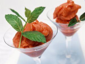 Erdbeereis Rezept
