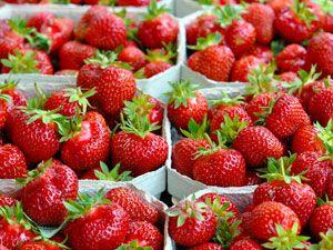 Erdbeeren – gesund genießen!
