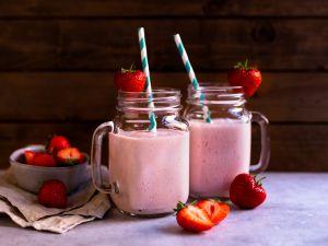 Erdbeermilch Rezept