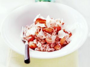 Erdbeerrisotto Rezept