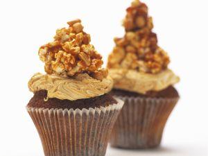 Erdnussmuffins mit Crunch Rezept