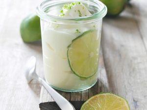 Erfrischende Limettencreme Rezept