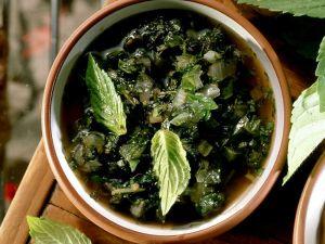 Erfrischendes Pesto mit Minze Rezept