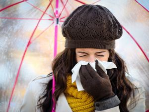 Schlafmangel und Erkältung