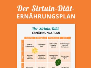 Sirtuin-Diät: Der Ernährungsplan