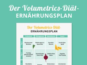 Volumetrics-Diät: Der Ernährungsplan