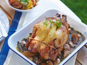 Estragon-Hähnchen vom Grill Rezept