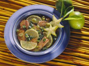 Exotische Suppe mit Filet vom Rind Rezept