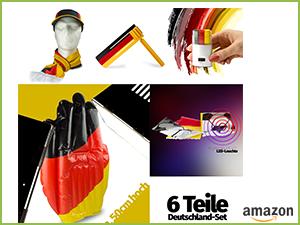 Fan Set für Deutschland