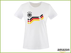 Deutschland Retro Trikot Damen T-Shirt