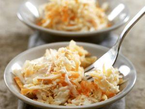 Apfel-Sellerie-Rohkost mit Karotte Rezept