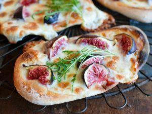 Feigen-Pizza Rezept
