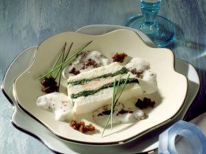 Feine Fischterrine mit Spinat Rezept