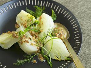 Fenchel mit Senf-Zitronen-Vinaigrette Rezept