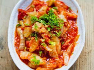 Fenchel-Tomaten-Gratin Rezept