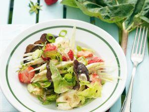 Fenchelsalat mit Erdbeeren Rezept