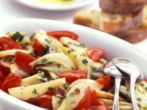 Fenchelsalat mit Tomaten Rezept