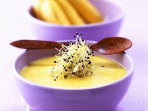Feurige Bananensuppe aus der Karibik Rezept