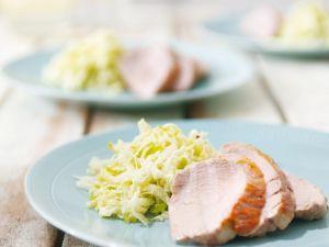 Filet vom Schwein mit Rohkostsalat Rezept