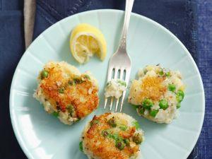 Fisch-Erbsen-Bratlinge Rezept
