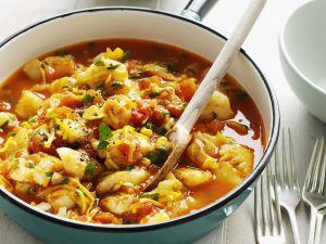 Fisch-Gemüse-Topf Rezept