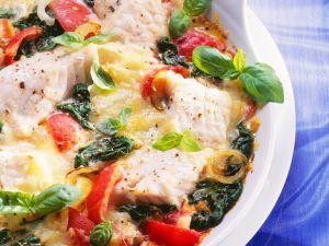 Fisch-Gemüsegratin Rezept