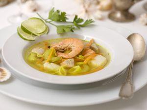 Fisch-Gemüsesuppe Rezept