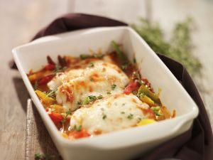 Fisch-Gratin mit Gemüse Rezept