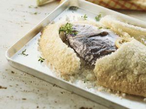 Fisch in Salzkruste auf kanarische Art Rezept