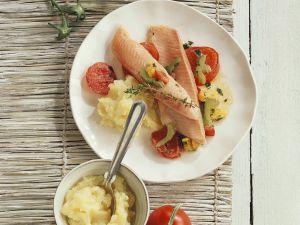 Fisch mit Kartoffelpüree Rezept