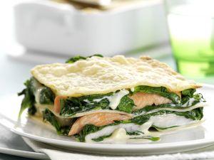 Fisch-Spinat-Lasagne Rezept