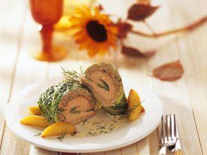 Fisch-Wirsingroulade mit Sahnesauce Rezept