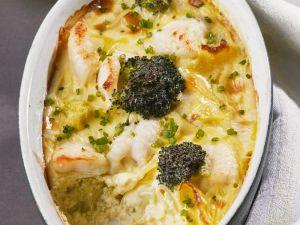 Fischauflauf mit Brokkoli & Blumenkohl Rezept