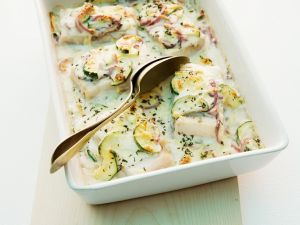 Fischauflauf mit Zucchini Rezept
